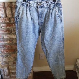 Vintage Bill Blass High Rise Mom Jeans Size 16